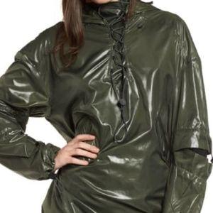 IVY PARK New Hi Shine Lace up Jacket